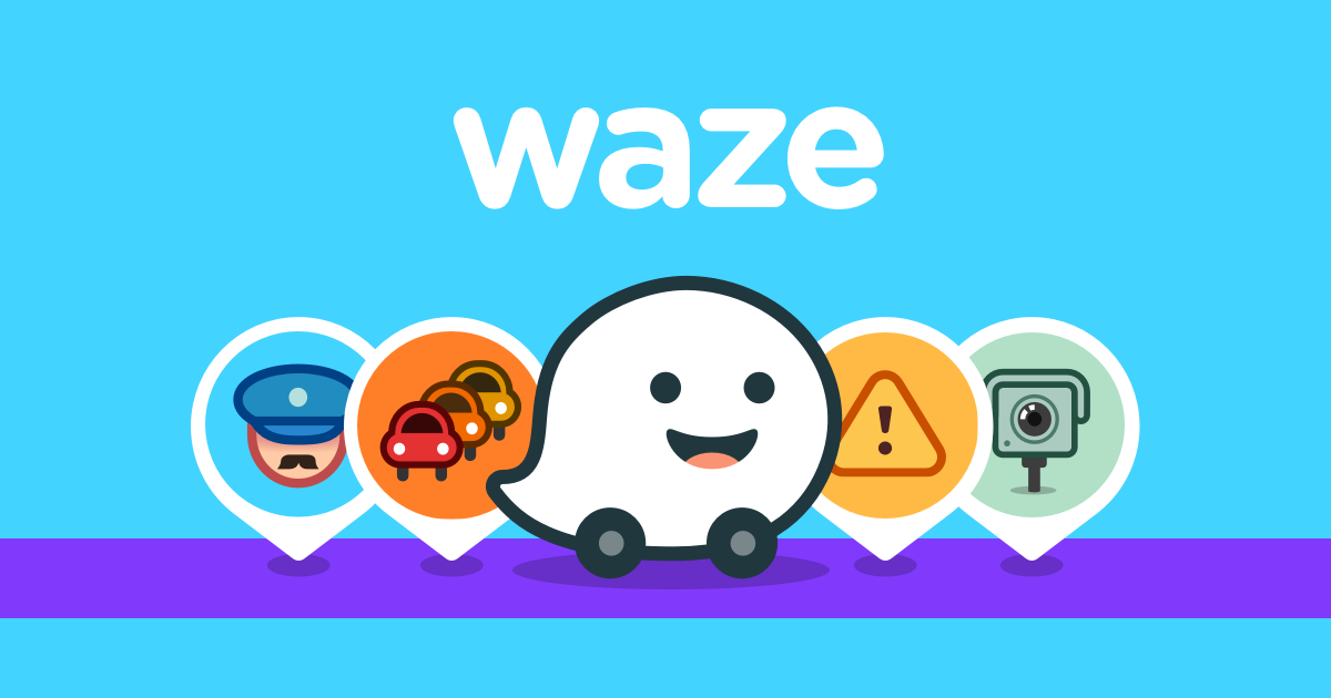 Download Waze Traffic and Carpool Apps for iPhone and Android